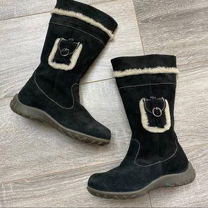PRIMIGI Suede Leather sheep skin winter boot